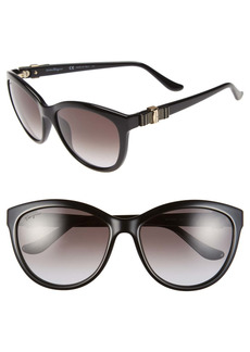 Salvatore Ferragamo 'Vara' 57mm Sunglasses