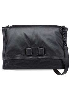 Salvatore Ferragamo Viva Puffy Calfskin Leather Shoulder Bag