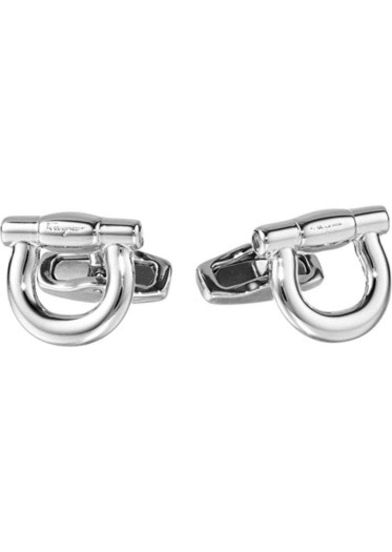 Ferragamo Single Gancini Cuff Links