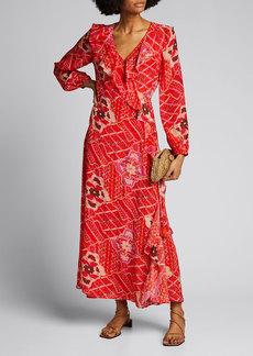 Figue Arabella Striped Jersey Dress