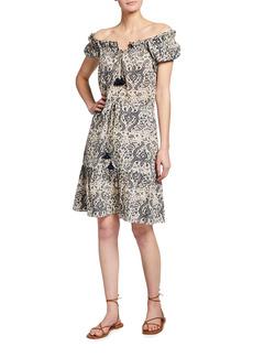 Figue Gianna Cotton Mini Dress