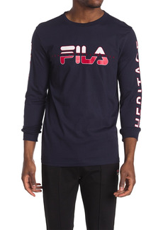 Fila Christopher Graphic Long Sleeve Shirt