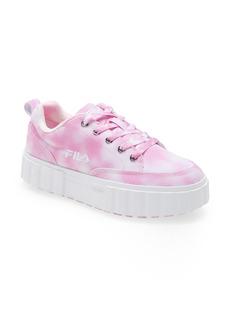 FILA Sandblast Low Tie Die Platform Sneaker (Women)