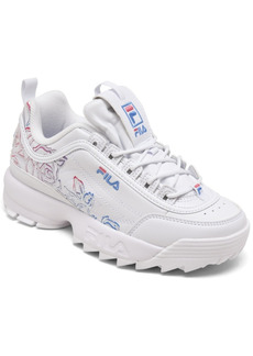 Fila Women's Disruptor Ii Floral Casual Athletic Sneakers from Finish Line