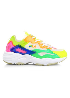 Fila Ray Tracer Patchwork Neon Sneakers