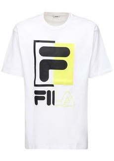 Fila Saku Logo Cotton T-shirt