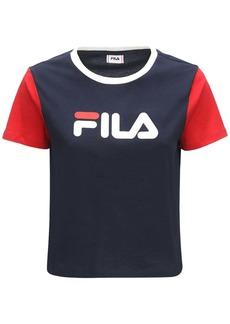 Fila Salome Logo Cotton T-shirt