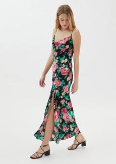 For Love & Lemons Becca Backless Maxi Dress