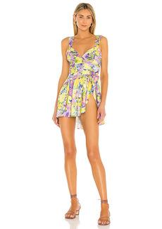 For Love & Lemons Cassia Mini Dress
