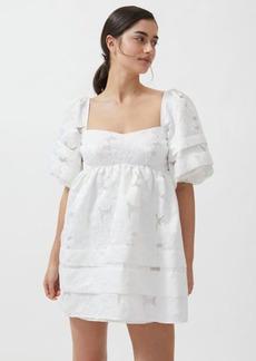 For Love & Lemons Evelyn Jacquard Babydoll Mini Dress