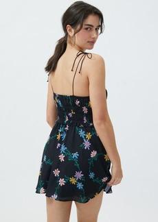 For Love & Lemons Lori Tie-Shoulder Mini Dress