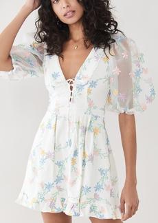 For Love & Lemons Majorie Mini Dress