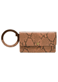 Fossil Women's Leather Wristlet Wallet with Wrapped Handle