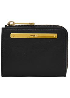 Fossil Women's Liza Mini Leather Zip Wallet