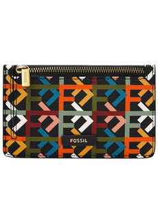 Fossil Women's Logan Zip Card Case