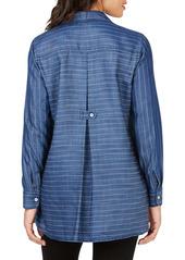 Foxcroft Brycen Stitch Stripe Shirt