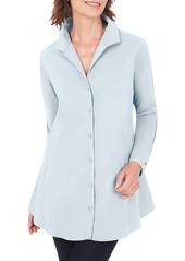 Foxcroft Cecelia Non-Iron Button-Up Tunic Shirt (Regular & Petite)