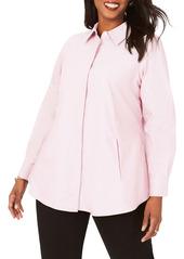 Foxcroft Cici Tunic Blouse (Plus Size)