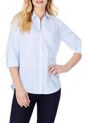 Foxcroft Dots & Stripes Non-Iron Shirt