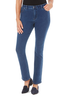 Foxcroft Downtown Stretch Straight Leg Jeans