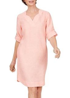 Foxcroft Harmony Non Iron Linen Dress