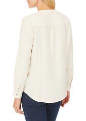 Foxcroft Kira Pintuck Shirt