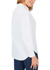 Foxcroft Manhattan Stretch Button-Up Shirt