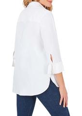 Foxcroft Milan Stretch Button-Up Shirt