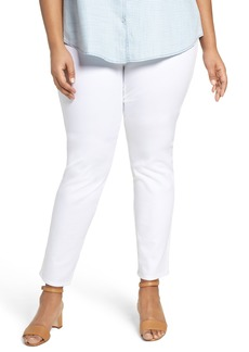 Foxcroft Nina Slimming High Rise Pull-On Legging Jeans (Plus Size)