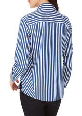 Foxcroft Paityn Stripe Button-Up Shirt