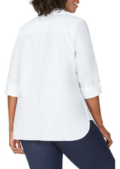 Foxcroft Pandora Non-Iron Tunic Shirt (Plus Size)