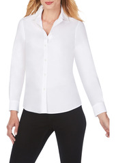 Foxcroft Shaped Fit Button-Up Shirt