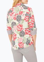 Foxcroft Taylor Wrinkle-Free Cotton Shirt (Regular & Petite)