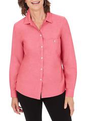 Foxcroft The Hampton Button Down Shirt