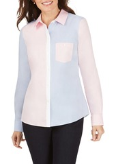 Foxcroft The Hampton Colorblock Shirt