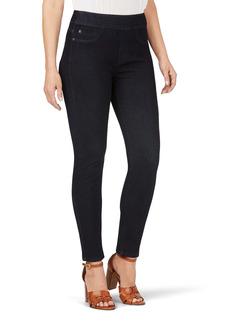 Foxcroft Uptown Slim Leg Pull-On Stretch Pants