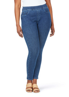 Foxcroft Uptown Stretch Pull-On Jeans (Plus Size)