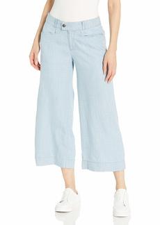Foxcroft Women's Phoebe Pinstripe Denim Tencel Pant