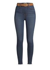 FRAME Ali High-Rise Cigarette Crop Skinny Jeans