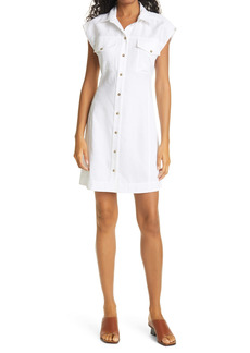 FRAME Arie Button Front Dress