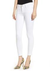 FRAME Le Color Crop Skinny Jeans (Blanc)