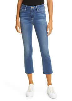 FRAME Le Crop High Waist Mini Boot Jeans (Edgewater)