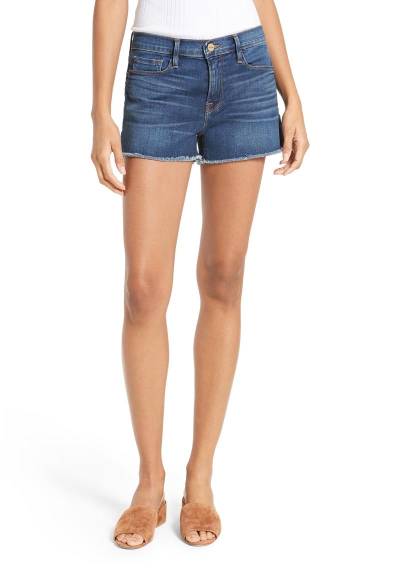 FRAME Le Cutoff Denim Shorts (Williams)