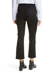 FRAME Le Francoise Crop Bootcut Jeans (Blackfish)