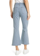 FRAME Le Francoise High Waist Crop Bootcut Jeans