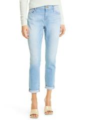 FRAME Le Garcon Ankle Boyfriend Jeans (Finn)
