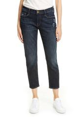 FRAME Le Garcon Crop Boyfriend Jeans (Covant)