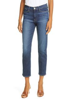 FRAME Le High Ankle Straight Leg Jeans (Allesandro)