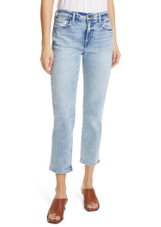 FRAME Le High Ankle Straight Leg Jeans (Lombard)