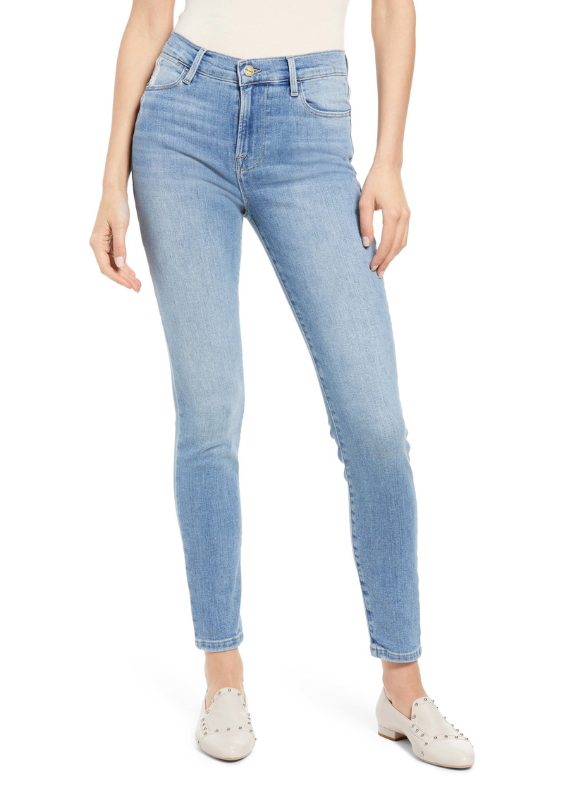 FRAME Le High Skinny Ankle Jeans (Melville)